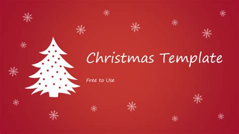 christmas powerpoint template powerpoint tips