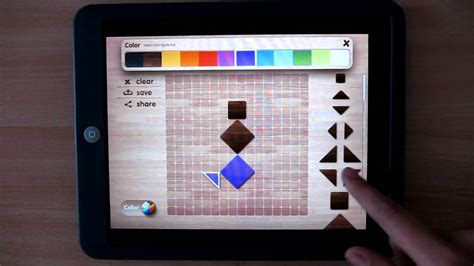 tangram puzzle popular ipad app for children toddler