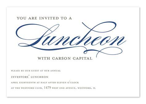 invited  lunch corporate invitations  invitation