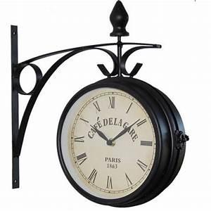 Horloge De Gare : horloge de gare bistrot fleuri et caf de la gare ~ Teatrodelosmanantiales.com Idées de Décoration