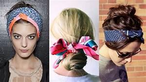 Comment Attacher Ses Cheveux : comment porter le foulard dans ses cheveux ~ Melissatoandfro.com Idées de Décoration