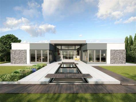 Moderne Häuser In L Form by Gussek Haus Bungalow C 244 Te D 180 Azur Gussek Haus