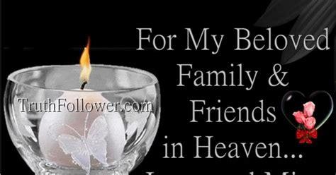 beloved family friends  heaven
