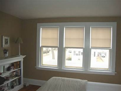 Windows Bedroom Hung Single Curtains Window Master
