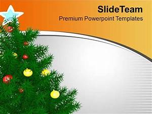 Enjoy Christmas With Christmas Tree Powerpoint Templates ...