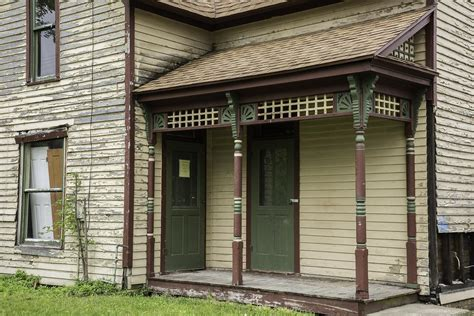 House Front Porch by Home Renovation Restoring A Historic Porch Indiana