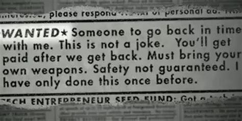 Safety Not Guaranteed Meme - quot safety not guaranteed quot meme becomes a movie minus one mullet the daily dot