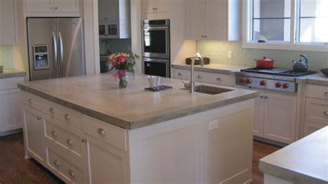 cost kitchen island how much do concrete countertops cost angie s list 2629