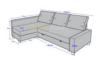 new sofa bed size dimensions merciarescue org