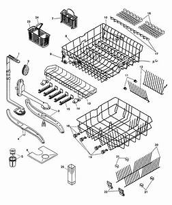 32 Kenmore Dishwasher 665 Parts Diagram