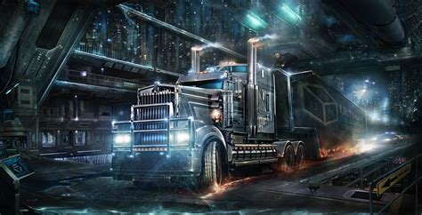 Truck Wallpaper Hd by Road Heavy Truck Wallpaper Hd Wallpapers Hd