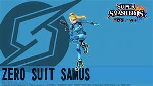 [SSB4] Zero Suit Samus Wallpaper by SSB4Supa on DeviantArt