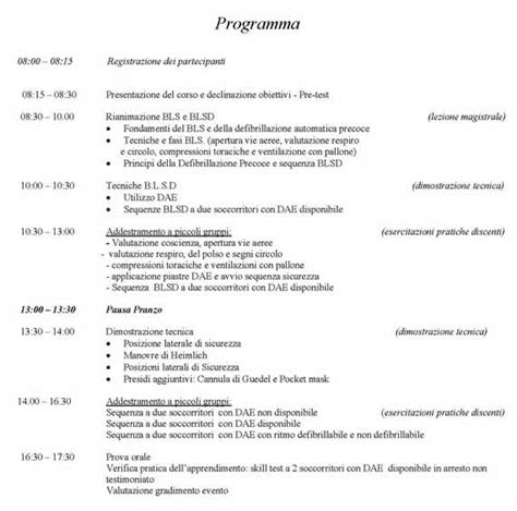 Test Blsd - blsd basic support defibrillation giomi