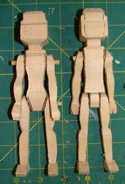 sara coles wooden hitty doll blanks  plan  carve