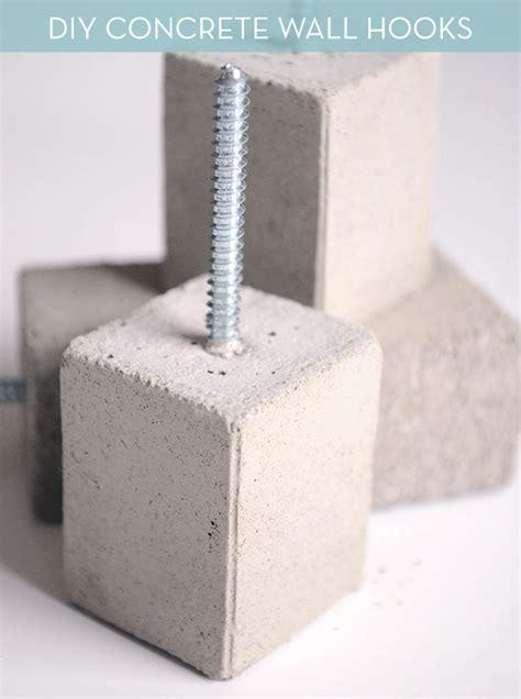 diy wall hooks make it modern diy concrete wall hooks diy concrete concrete walls and wall hooks