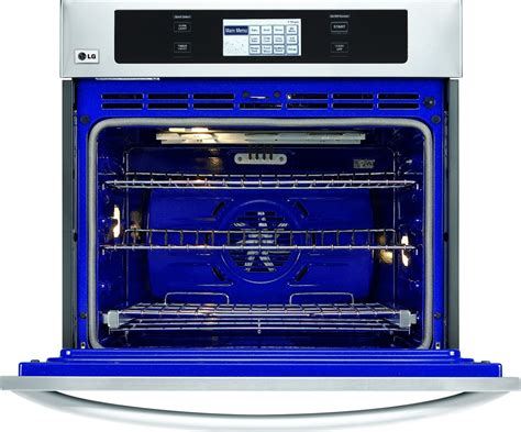 lg lwsst  single electric wall oven stainless steel