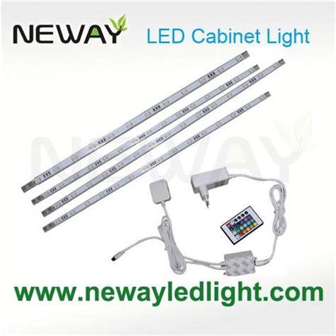 400mm rgb remote led cabinet light bar kit