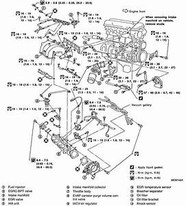 1995 Nissan Altima Serpentine Belt Diagram