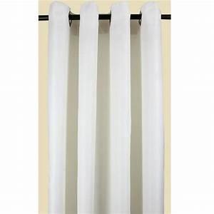 Ikea Double Rideaux : double rideau blancoccultant achat vente rideau voilage 100 polyester cdiscount ~ Teatrodelosmanantiales.com Idées de Décoration