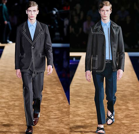 prada  spring summer mens runway denim jeans fashion