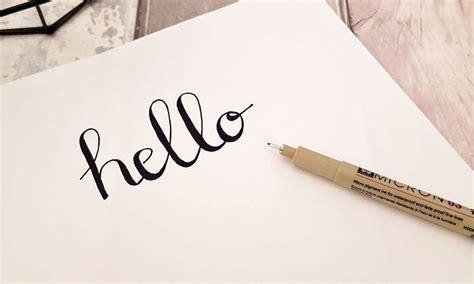 Comment Créer Une Fausse Calligraphie ? Journaling