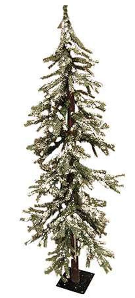 ft frosted skinny alpine tree country primitive