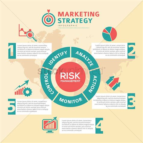 Marketing strategy infographic Vector Image - 1961938 ...