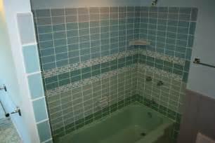 glass subway tile bathroom ideas green glass tile modwalls live your colors