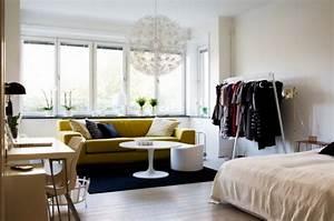 Kleiderschrank Für Kleine Räume : 1 zimmer wohnung einrichten ideen ~ Bigdaddyawards.com Haus und Dekorationen