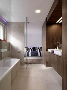 101 photos de salle de bains moderne qui vous inspireront With salle de bain grise et beige