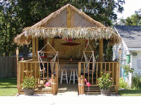 backyard tiki huts thatching for diy build your own tiki huts and tiki bars tiki hut tiki bar pinterest
