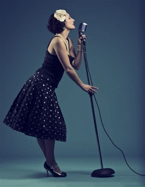 rose vintage superb female jazz vocalist