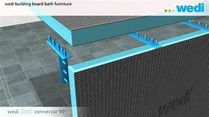 Wedi Platten Befestigen : wedi building board bath furniture eng youtube ~ Udekor.club Haus und Dekorationen