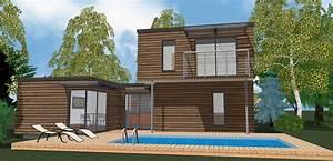 Cout Construction Maison Soi Meme : prix d une maison ossature bois fabulous finest amazing ~ Premium-room.com Idées de Décoration