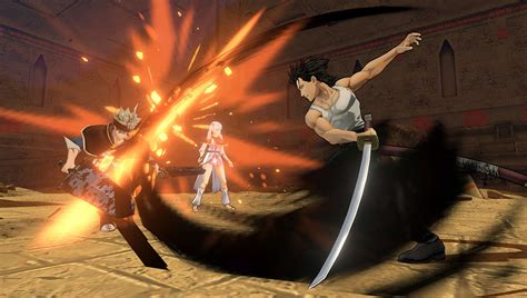today  ps beta  fighting game black clover