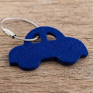 Schlüsselanhänger Für Auto : filz schl sselanh nger auto dunkel blau mit stahlseil leder filz taschen h llen etuis ~ Blog.minnesotawildstore.com Haus und Dekorationen