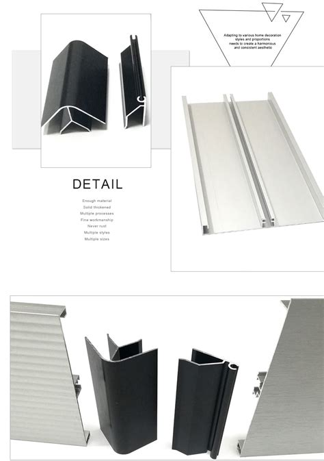 aluminium skirting board profile  price foshan yinglan aluminum coltd