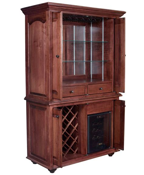 Cabinets Furniture by Jefferson Wine Cabinet Amish Direct Furniture