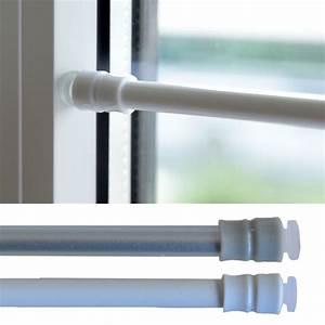 Gardinen Aufhängen Ohne Stange : gardinen klemmstange gardinenstange scheibenstange ohne bohren teleskop fenster ebay ~ Sanjose-hotels-ca.com Haus und Dekorationen