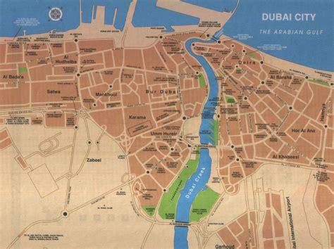 Carte Du Monde Dubai by Info Ville Du Monde Carte