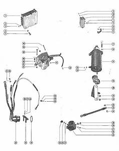 Mercury Marine 650  4 Cylinder  Starter Motor  Starter Solenoid  Rectifier  U0026 Wiring Harnes Parts