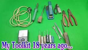 My Toolkit 18 years ago... - YouTube
