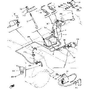 Gas Cycle Yamaha Parts
