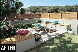 Do It Yourself Create A Corner Courtyard Australian