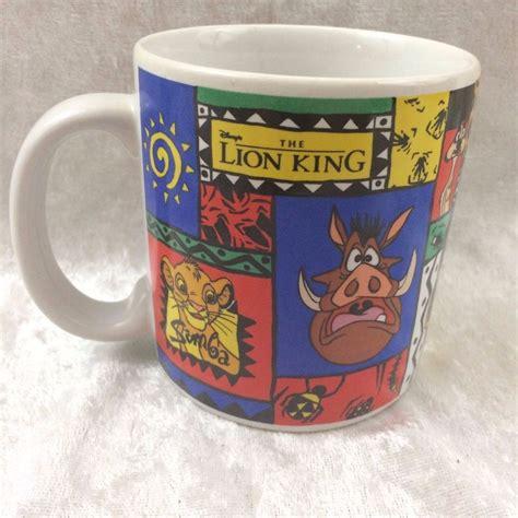 And more on wanelo, the world's biggest my disney princess name mug is a perfect gift for any coffee or tea drinker. Disney Coffee Mug The Lion King with Simba Pumbaa Timon EUC 90s   eBay   Disney coffee mugs ...