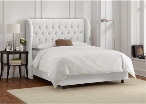 King Size Bed Frame And Headboard by King Size Bed Frame And Headboard Tufted Wingback In