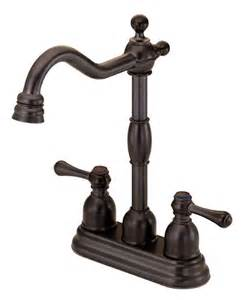 small kitchen faucet buy two handle bar small kitchen faucet matching faucet in rubbed bronze finish at discount