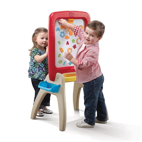 step2 easel desk canada all around easel for two creative play by step2