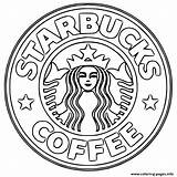 Starbucks Coloring Printable Coffee Kawaii Sheets Coloringbase sketch template