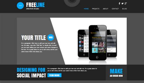 Technology & Apps Website Templates